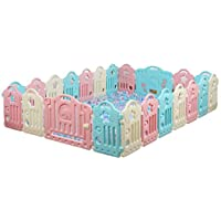 屋内クロールガードレール、子供の秋の保護柵家庭の環境保護の遊び場の赤ちゃんの安全柵40-80CM (色 : F f)