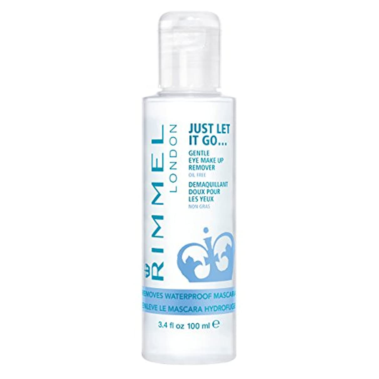 ただ爆弾大胆なRIMMEL LONDON Gental Eye Makeup Remover Clear (並行輸入品)