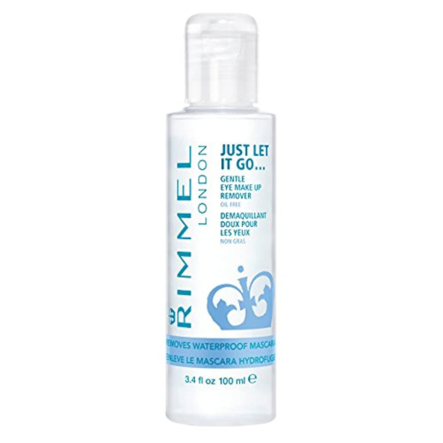 注ぎます発明歌RIMMEL LONDON Gental Eye Makeup Remover Clear (並行輸入品)
