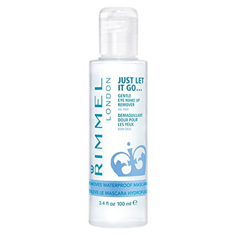 ノーブル遮る侵入するRIMMEL LONDON Gental Eye Makeup Remover Clear (並行輸入品)