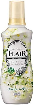 フレアフレグランス 柔軟剤 ホワイト&ブーケ 本體 5