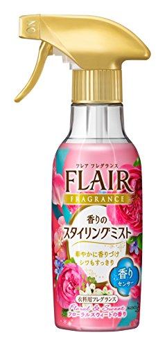 フレアフレグランスミスト 消臭・芳香剤 フローラル&スウィートの香り 本体 270ml