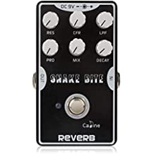 Caline Snake Bite Reverb Analog Delay Effect Pedals DC 9V Electric Acoustic Guitar Pedals True Bypass CP-26