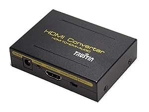 TRUSTIN HDMIデジタルオーディオ分離器(入力:HDMI →出力:HDMI, SPDIF, RCA)