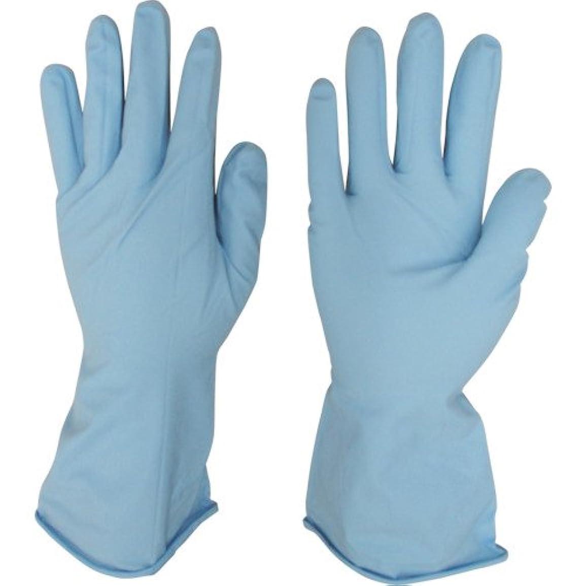 嘆願概して煙突宇都宮製作 作業用手袋 シンガーニトリル薄手手袋 パウダーフリー ブルー 10双入 S