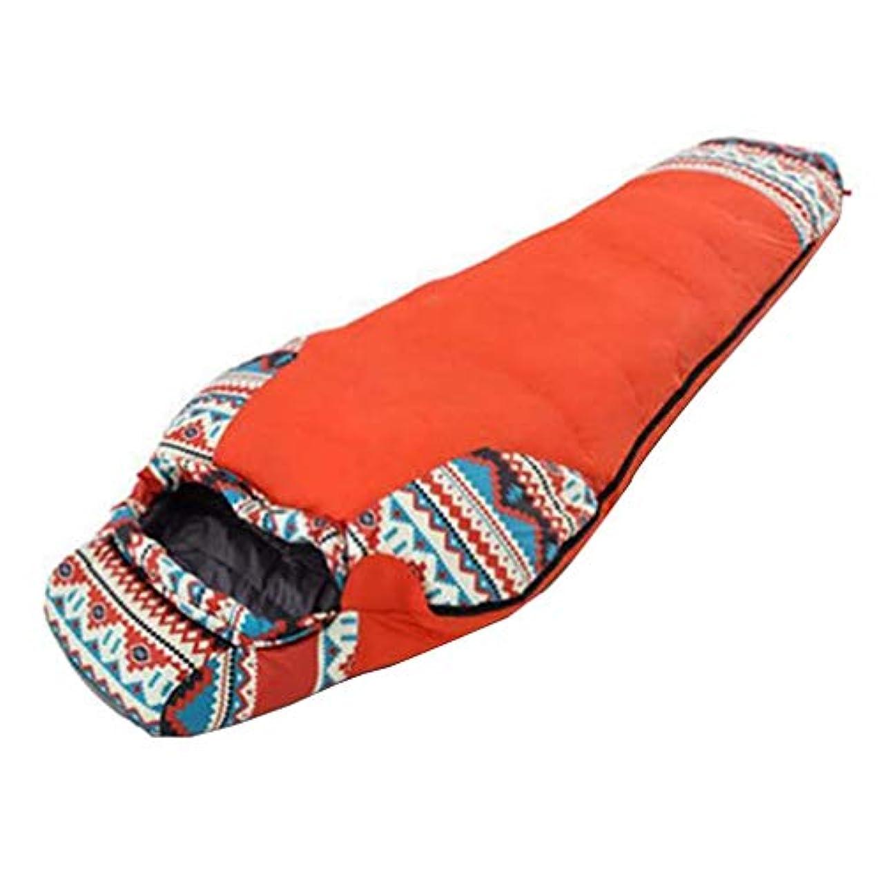 特権的周波数計り知れない単一の寝袋冬のための携帯用防水暖かい軽量そしてコンパックの寝袋