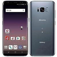 SAMSUNG 【SIMロック解除済】docomo Galaxy S8 SC-02J Orchid Gray