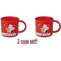 [ 2カップセット]スケーターSanrio Hello Kitty日本から80のke4 a 200 ml食洗機対応