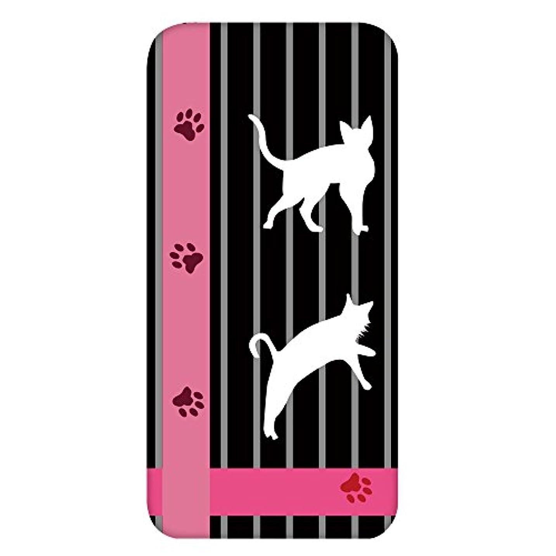 立場圧力徐々にホワイトナッツ iPhone7 Plus ケース クリア ハード プリント パターンC(cw-1243) スリム 薄型 猫 ねこ ネコ cat WN-PR464332