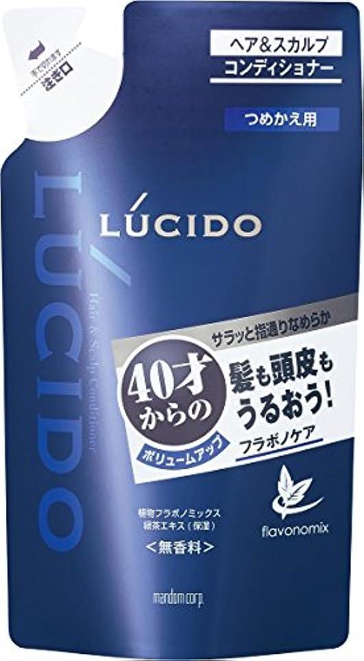 保存商人乳製品ルシード ヘア&スカルプコンディショナー つめかえ用 380g