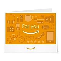Amazonギフト券- 印刷タイプ(PDF) - あなたに(for you orange)
