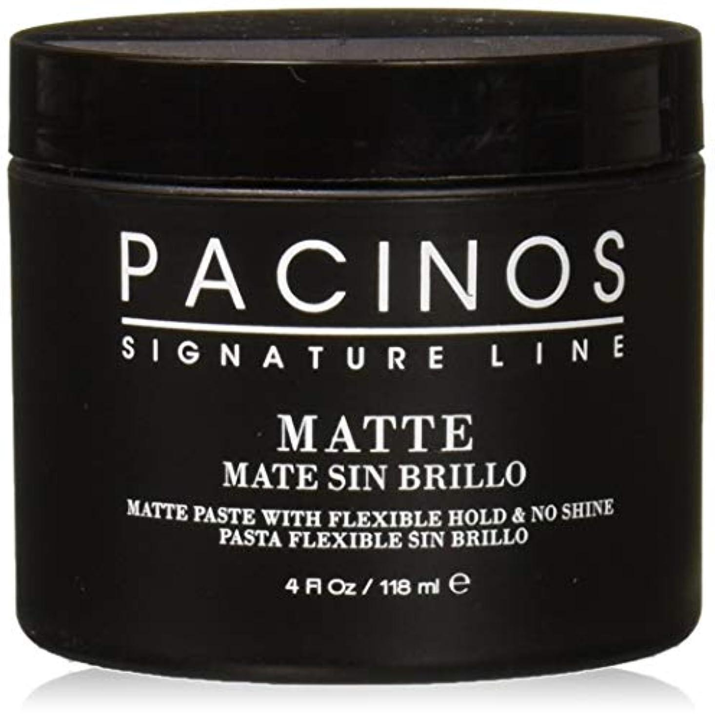 水を飲むグロー技術Pacinos Matte, 4 Ounce