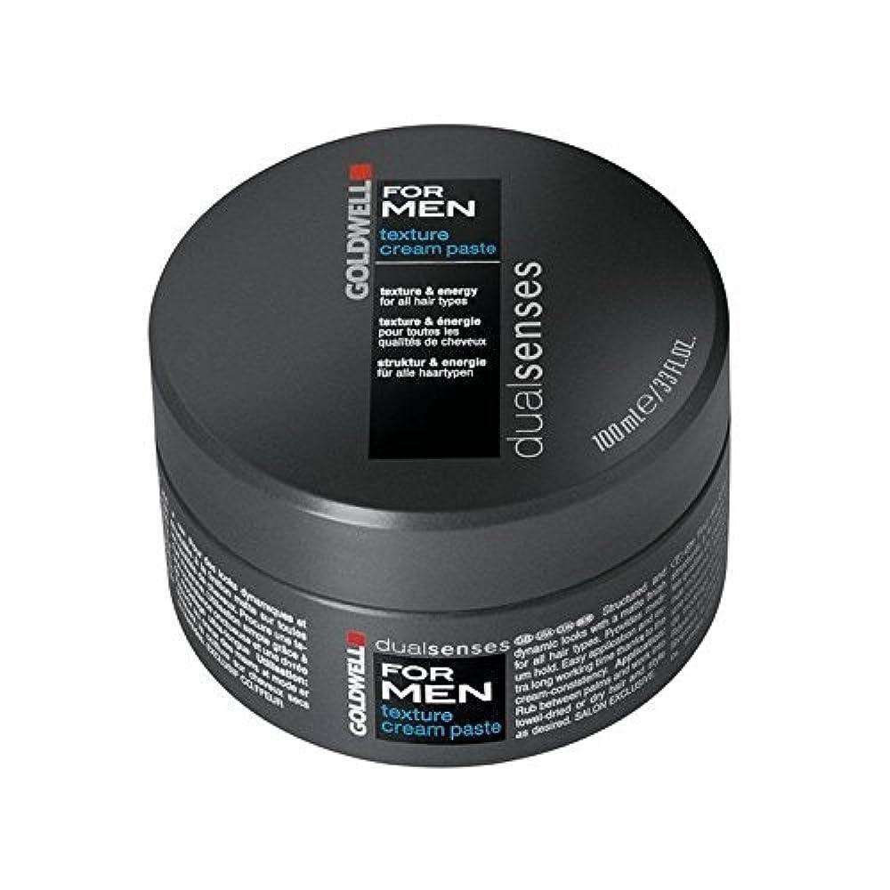 慢ベッツィトロットウッド言い訳Goldwell Dualsenses For Men Texture Cream Paste (100ml) (Pack of 6) - 男性のテクスチャーのクリームペースト(100ミリリットル)のためのの x6 [並行輸入品]