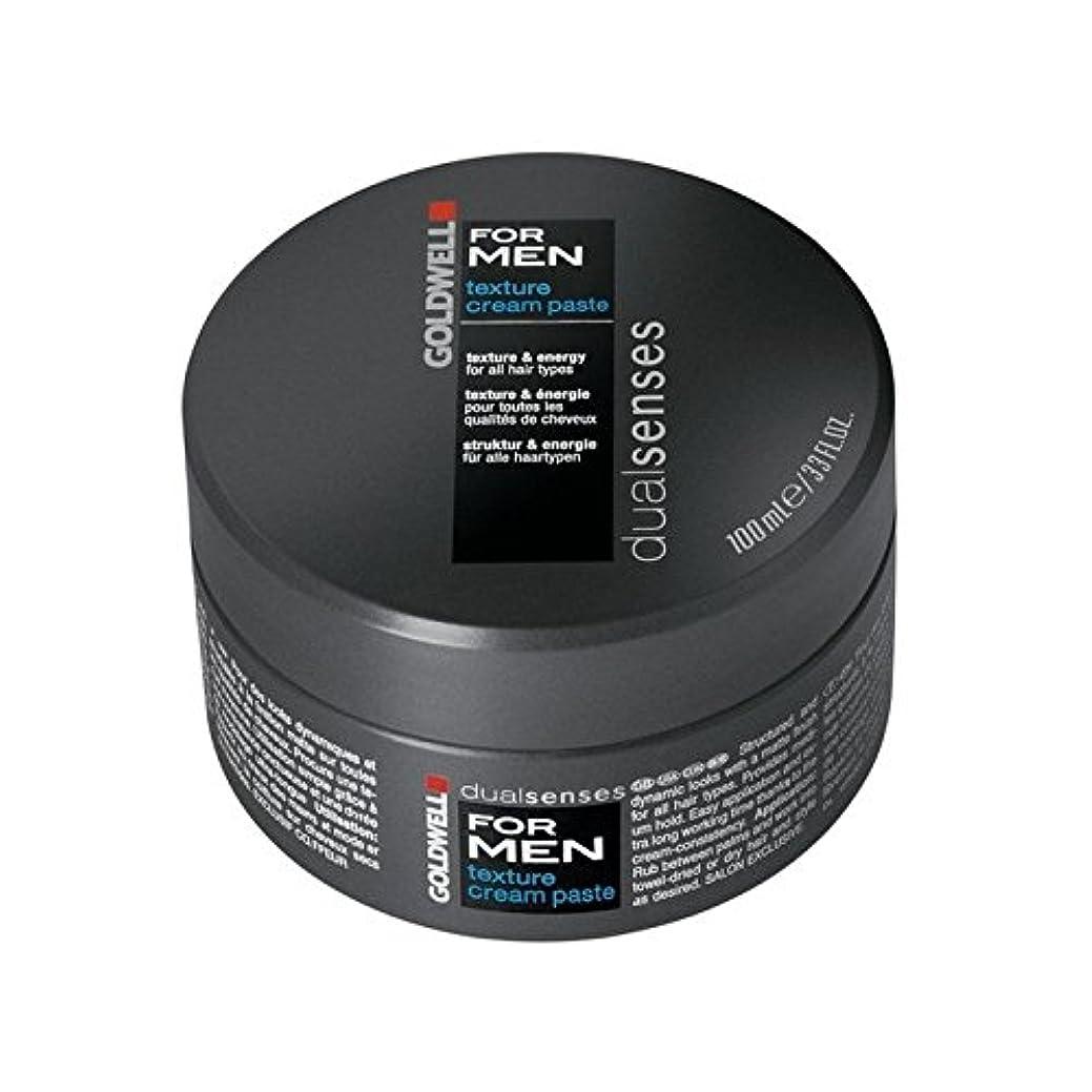 スキー機会ピンポイントGoldwell Dualsenses For Men Texture Cream Paste (100ml) - 男性のテクスチャーのクリームペースト(100ミリリットル)のためのの [並行輸入品]