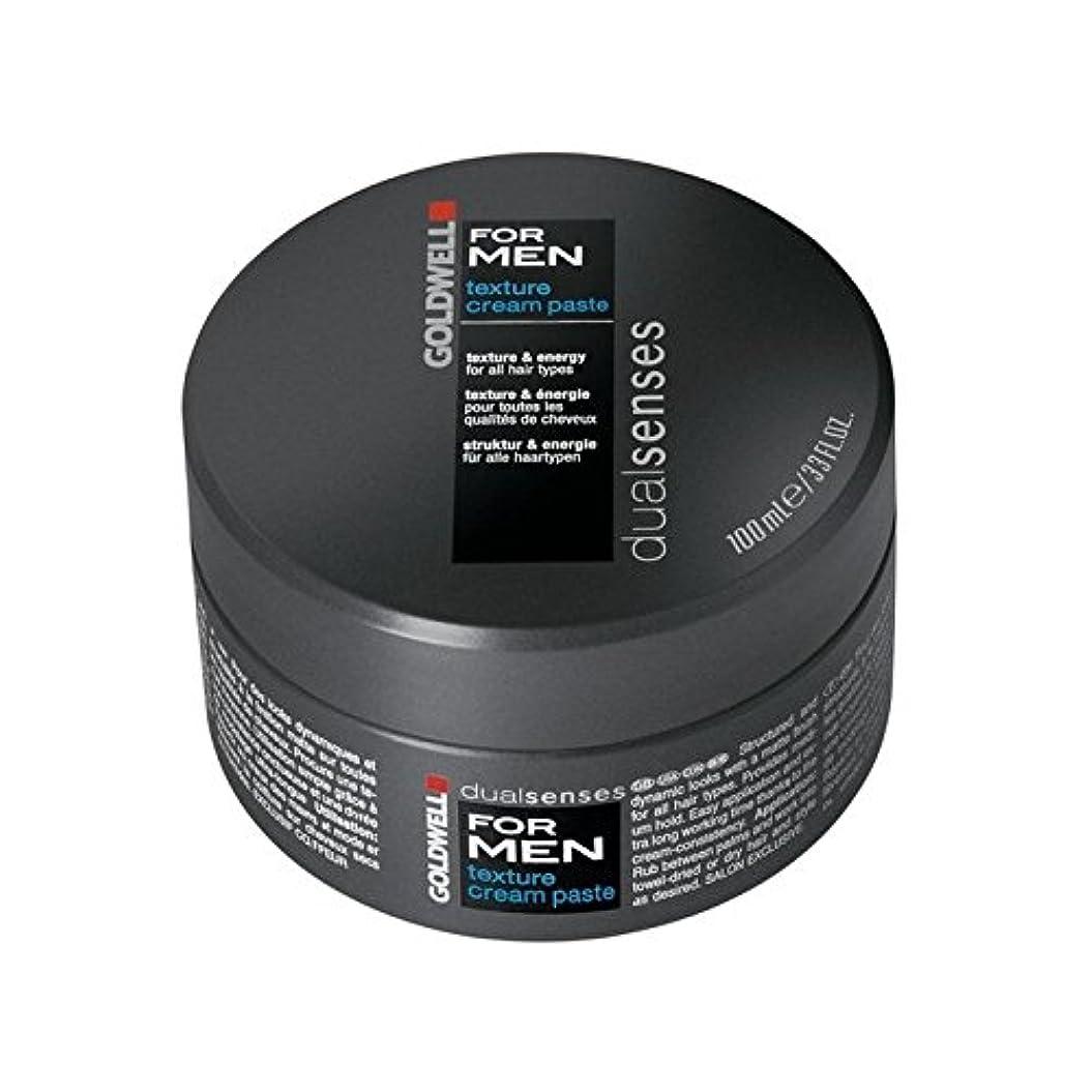 放散するピアニスト雄弁家Goldwell Dualsenses For Men Texture Cream Paste (100ml) (Pack of 6) - 男性のテクスチャーのクリームペースト(100ミリリットル)のためのの x6 [並行輸入品]