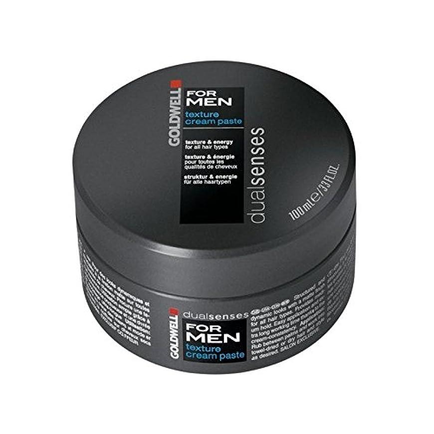 喜劇農夫稼ぐGoldwell Dualsenses For Men Texture Cream Paste (100ml) (Pack of 6) - 男性のテクスチャーのクリームペースト(100ミリリットル)のためのの x6 [並行輸入品]