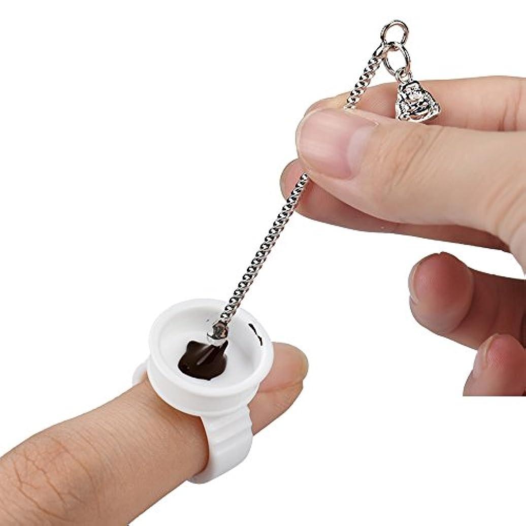 必要とする真珠のような教10ピースパーマネントメイクアップ用品タトゥーツールマイクロブレードインク顔料混合ピック