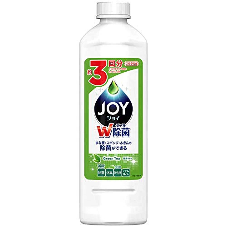 除菌ジョイ コンパクト 食器用洗剤 緑茶の香り 詰替用 440ml