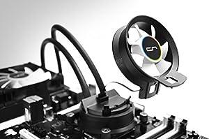 CRYORIG 水冷CPUクーラー 240mm/38.5mm厚ラジエーター 120mmファン2基 エアーフローファン搭載 AMD AM4対応版 A40 Ultimate V2 日本正規代理店品