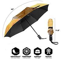動物猫もみじ 折りたたみ傘 ワンタッチ自動開け 大きい傘 直径96cm 晴雨兼用 超高強度 グラスファイバー超撥水 スーパーUVプロテクション日傘男女兼用雨傘