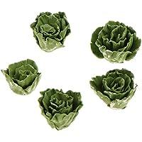 Lovoski 1/12スケール ミニチュア ドールハウス 食品 フルーツ 野菜 全5点セット - カラー#12