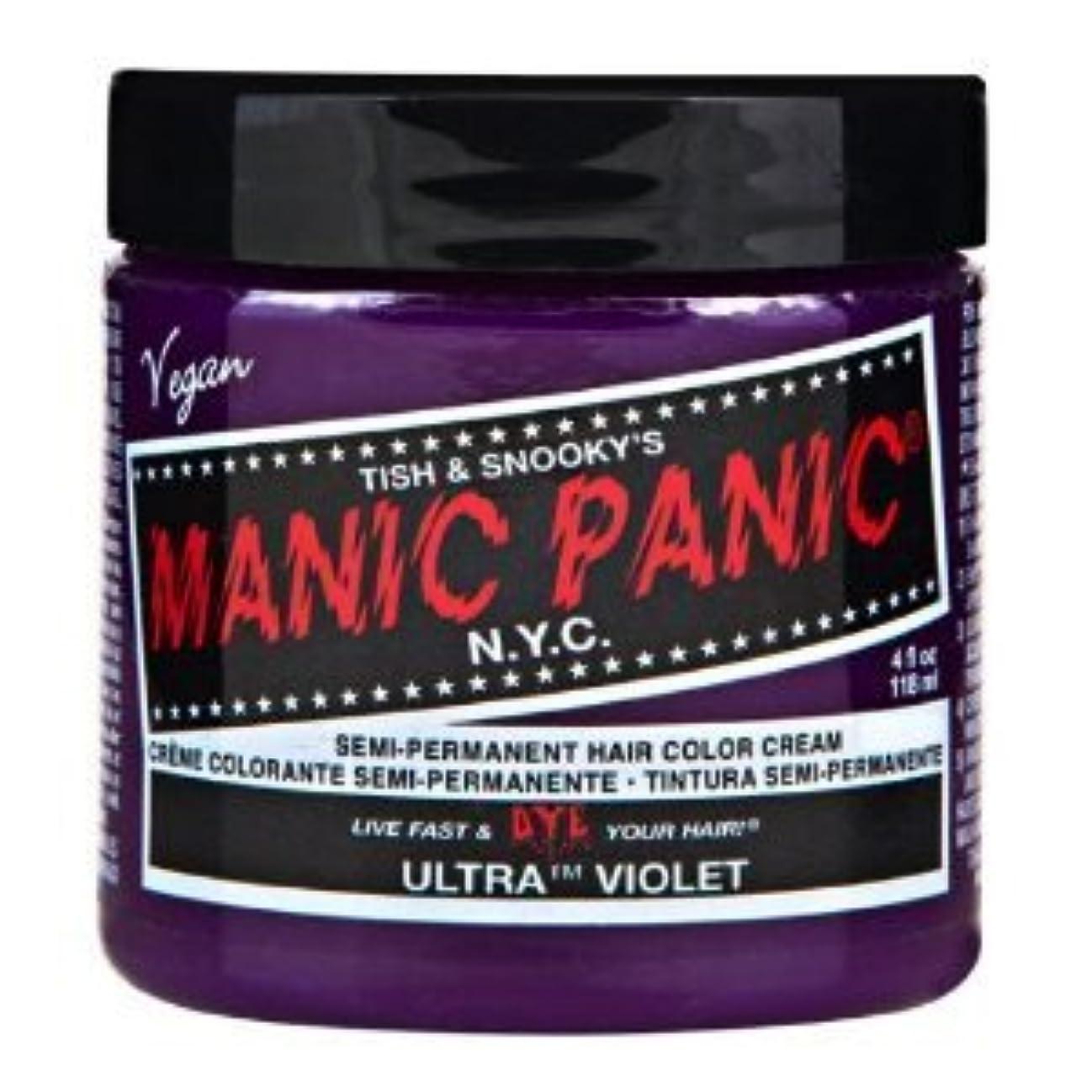 便利夕食を食べるお香MANIC PANICマニックパニック:Ultra Violet (ウルトラ?ヴァイオレット) 118ml