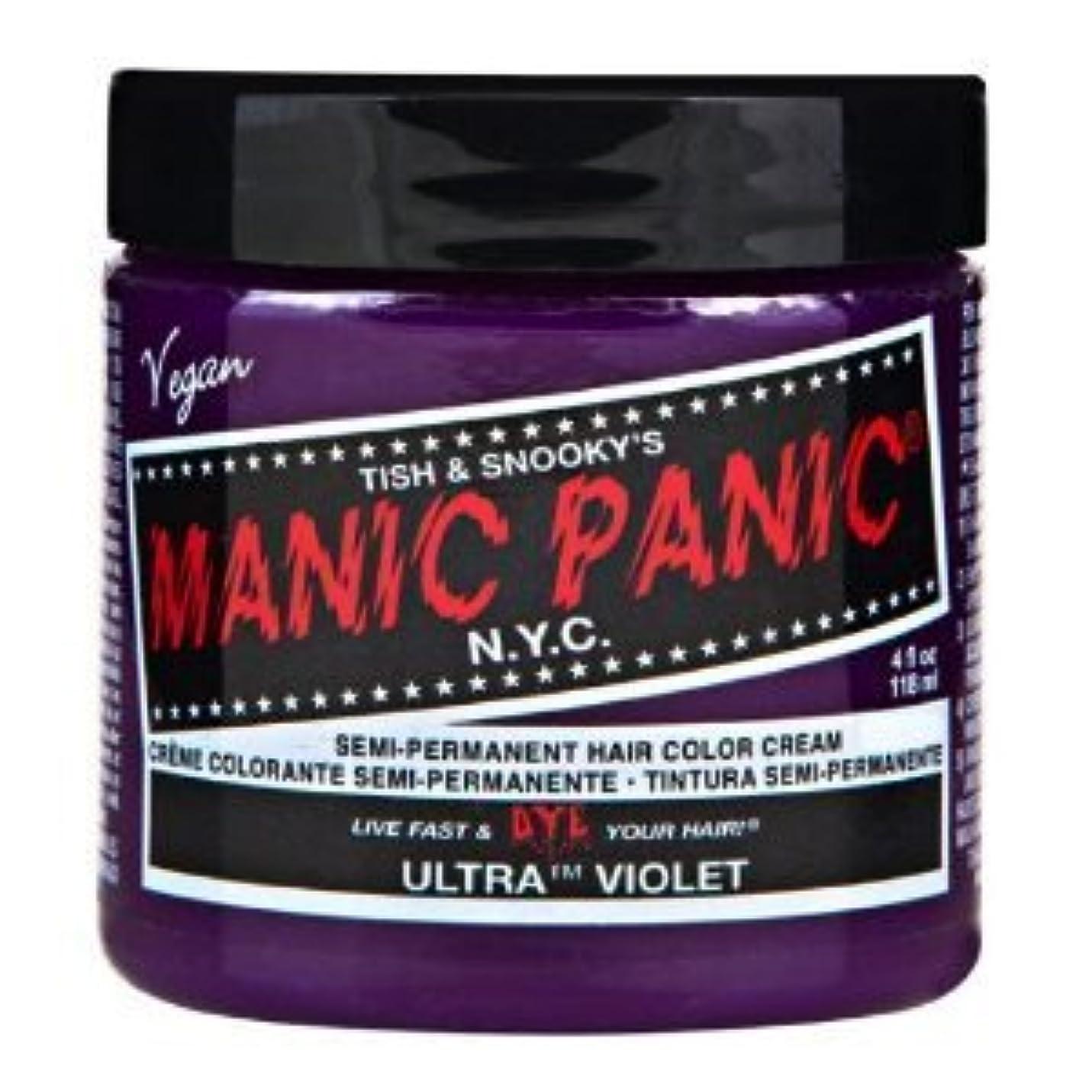 自分のために拍手マエストロMANIC PANICマニックパニック:Ultra Violet (ウルトラ?ヴァイオレット) 118ml