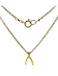 (ドギャード) Dogeared ネックレス Make a Wish ウィッシュボーン ゴールド チェーン MWGG100180000