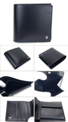 カルティエ(Cartier) 二つ折り財布 ブラック パシャ...