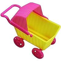 RaiFu ままごと おもちゃ  おせわパーツ  ドール ハウス ミニ トローリー シミュレーション ドール用 ショッピング カート ベビー ドール アクセサリー シングル ミニ ショッピング カート