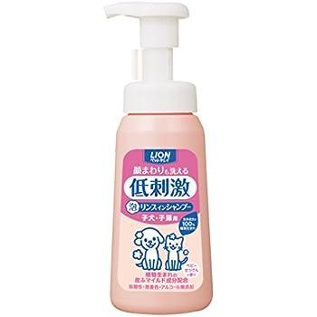 ペットキレイ 顔まわりも洗える 泡リンスインシャンプー 子犬・子猫用 本体230ml