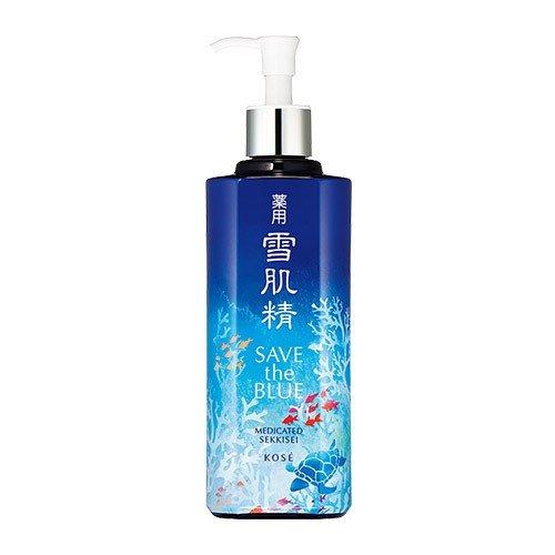 薬用 雪肌精 500ml [ディスペンサー付きボトル] [SAVE the BLUE限定デザインボトル][医薬部外品]