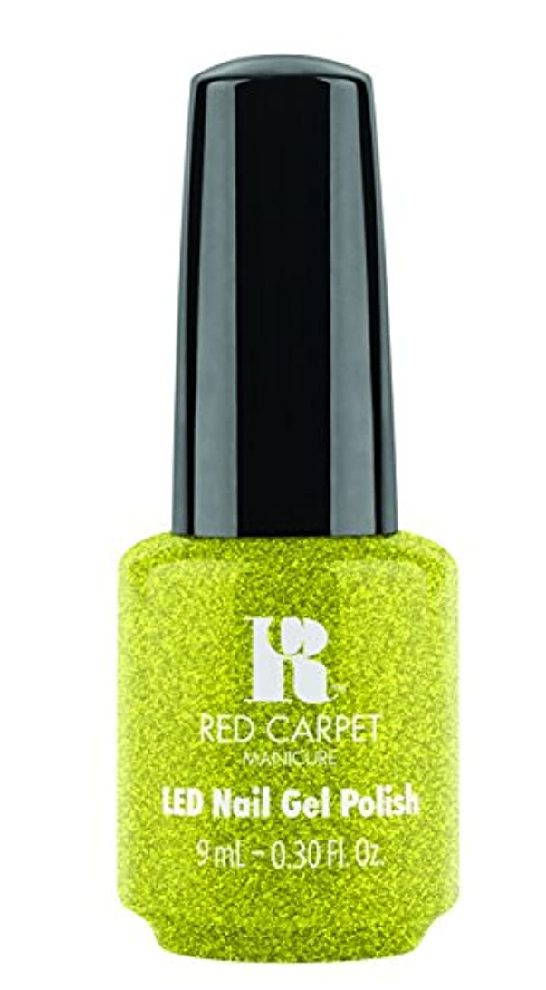 ディーラーダブルしかしRed Carpet Manicure - LED Nail Gel Polish - Power of the Gemstones - Peridot - 0.3oz/9ml