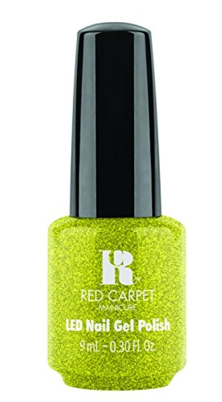 ボタン仕事スキームRed Carpet Manicure - LED Nail Gel Polish - Power of the Gemstones - Peridot - 0.3oz/9ml