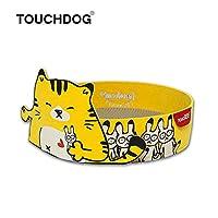 [TOUCHCAT] 猫 バリバリ丸ベッド 丸型爪とぎベッド 爪とぎ+ベッド両用式 爪とぎ取替え可能 日本正規代理店 (イエロー)