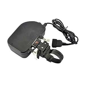 Sourcingbay 自転車 バイク チェーン 充電器 → USB-ダイナモ チャージャー 1000mAh スマホ充電器