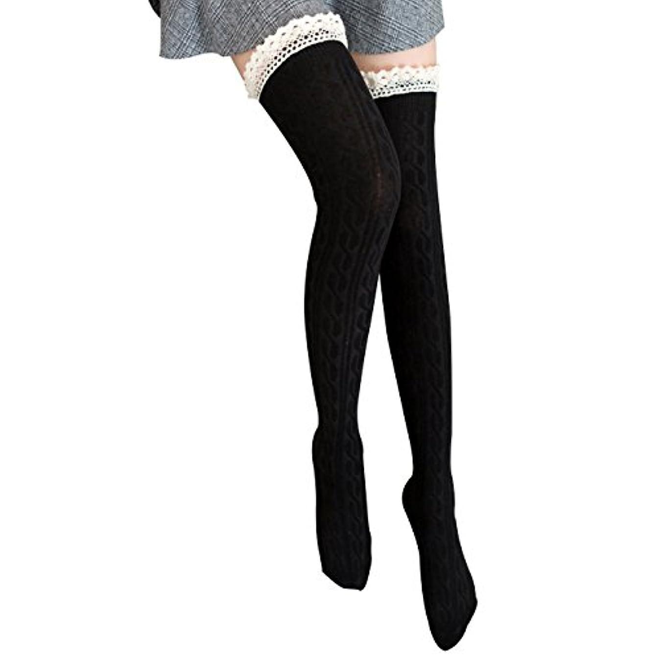寝室を掃除する境界倒錯オーバーニーソックス 美脚 着圧 スッキリ サイハイソックス ニーハイ ストッキング ロングソックス レディース 靴下 かわいい
