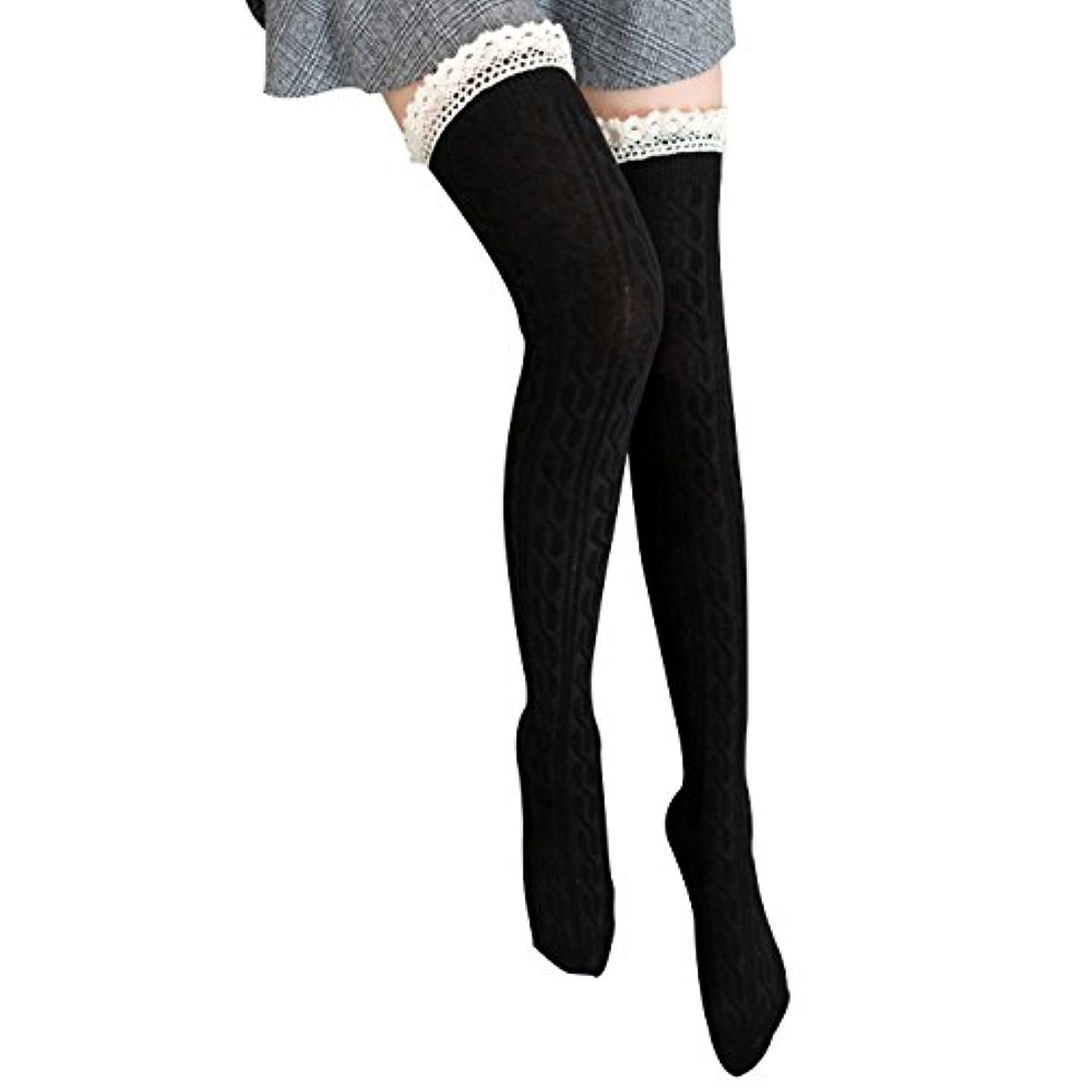 入札ダーベビルのテスズームオーバーニーソックス 美脚 着圧 スッキリ サイハイソックス ニーハイ ストッキング ロングソックス レディース 靴下 かわいい