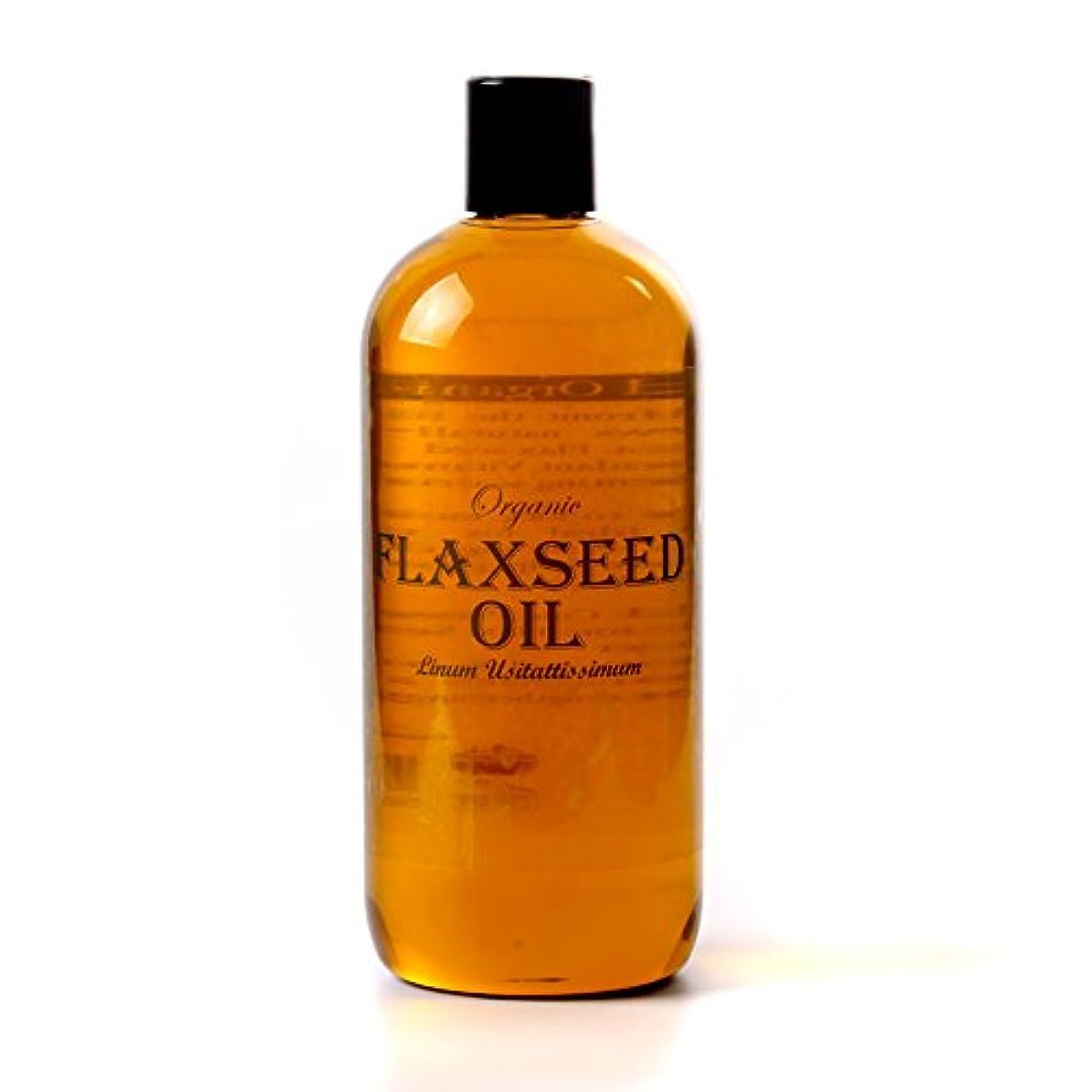 リーク独立して理想的にはMystic Moments | Flaxseed (Linseed) Organic Carrier Oil - 500ml - 100% Pure