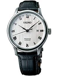 [プレザージュ]PRESAGE 腕時計 海外モデル 自動巻 (手巻付き) 型打ち白文字盤 シースルーバック デュアルカーブサファイアガラス SRPC83J1 メンズ [並行輸入品]