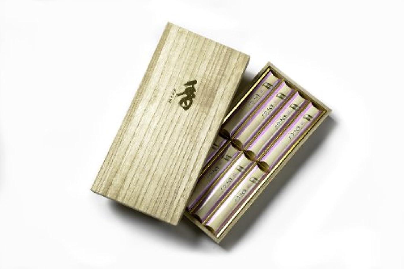 近代化表面応用微煙花さやか短寸バラ8箱詰桐箱