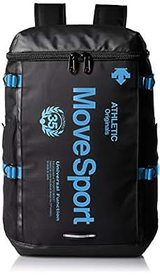 [デサント] DESCENTE Move Sport スクエアバッグパック DAC-8623ZN BKTQ (BKTQ)