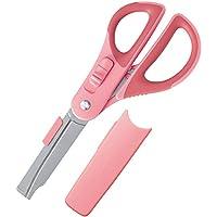 コクヨ ハサミ 2Way ハコアケ グルーレス刃 ピンク ハサ-P410P