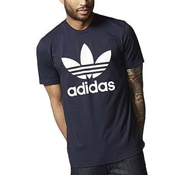 adidas Originals(アディダス オリジナルス) 半袖Tシャツ HERI ORIG TREFOIL TEE ロゴTシャツ プリントTシャツ メンズ XSサイズ AY7710-Rインク bhs47-XS-AY7710