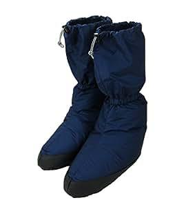 イスカ(ISUKA) ダウンプラス テントシューズ ロング (Sサイズ) ネイビーブルー 223021