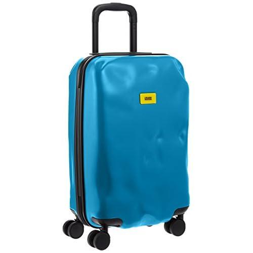 [クラッシュバゲッジ] CRASH BAGGAGE 取扱い注意不要スーツケースPIONEER 機内持ち込みサイズTSAロック搭載 CB101 14 (PAINT BLUE)