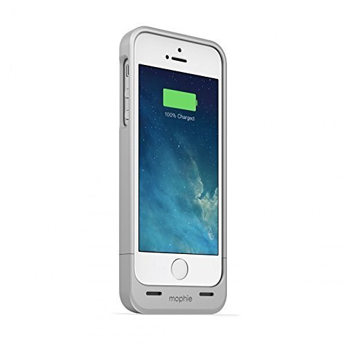mophie juice pack Helium for iPhone 5/5s/5se (1500mAh) - Silver