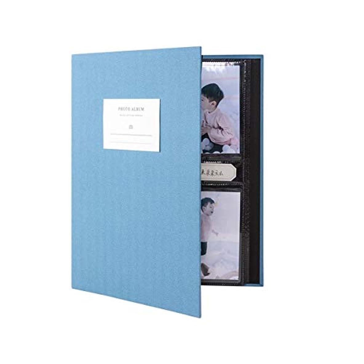 層注入する不可能なFRDYB 大容量フォトアルバム、記念アルバム、コレクション、インタースティシャル3インチ5インチ10インチフォトストレージブック (Color : Blue, Size : Mixing)