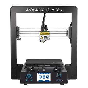 Anycubic i3 Mega 3D プリンター 高精度 大きい プリンタサイズ 構造物取り易いヒートベッド (ブラック)