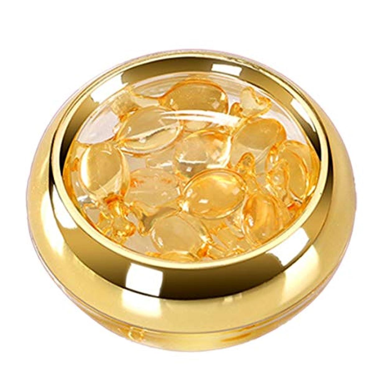 勘違いするわざわざ記念碑Intercorey Flower Moon Eye Serum Capsule Space Time Capsules Dark Circles Moisturizing Eye Cream to Eye Bags Gold